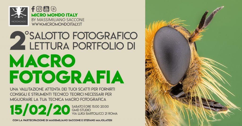 2° salotto fotografico – Lettura portfolio macro – 15 FEB 2020